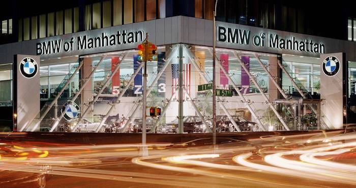 BMW of Manhattan store front