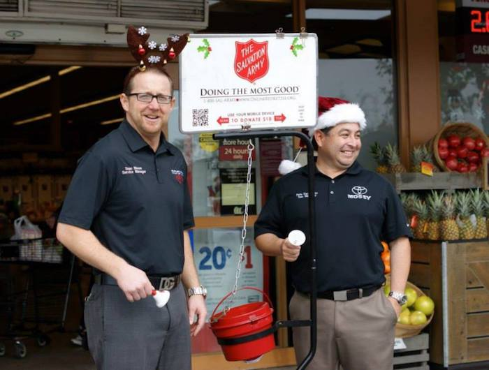 One Of The Ways We Give Back Is Through The Salvation Army. We Ring The  Bell At Vonu0027s Grocery Store In Order To Support The Salvation Army And  Raise Money ...