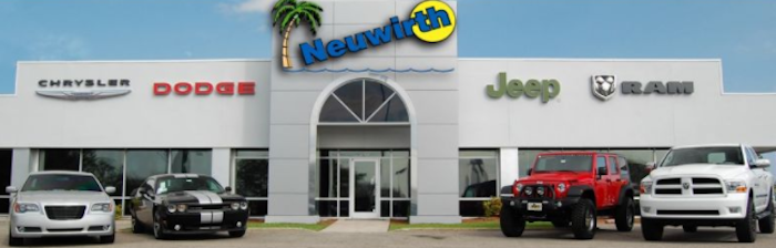 Neuwirth Motors dealership with new vehicles